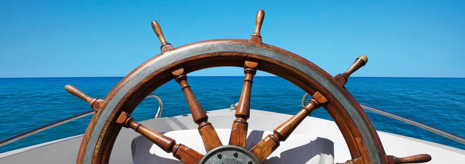 helm of a ship