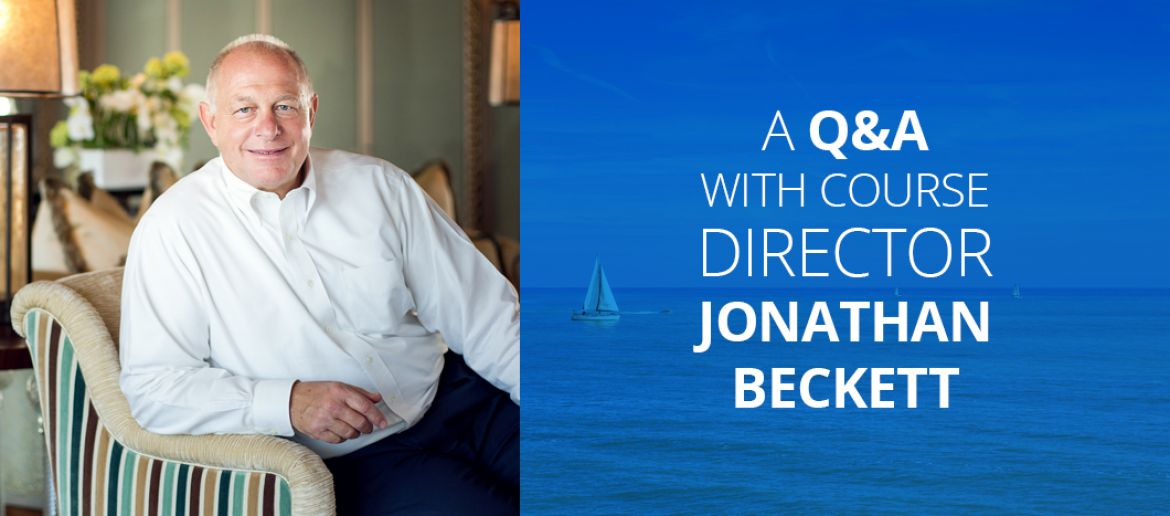 In Conversation with Course Director Jonathan Beckett