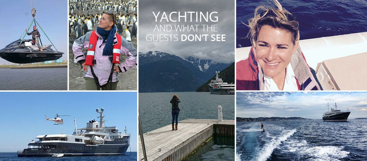 Yachting and what the guests don't see