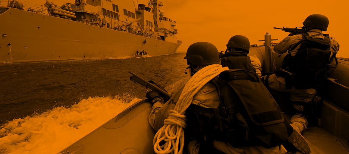 The rise in ship security